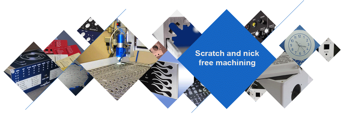Scratch and nick free machining